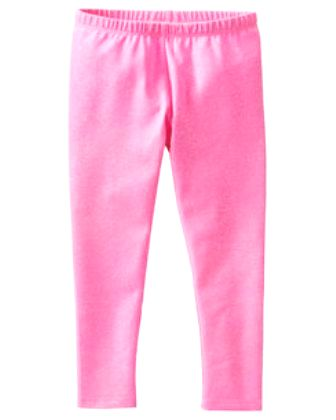 Feral Princess Girls Glitter Sparkle Leggings - Pink