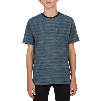 Volcom Youth Boys Alden Tee - Blue