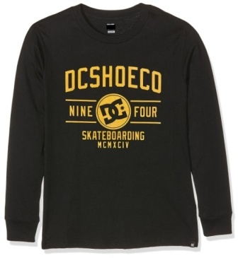 DC Shoes Youth Boys Recover Long Sleeve  - Black