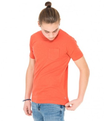 Quiksilver Youth Boys Slubstitution S/S Tee - Rust