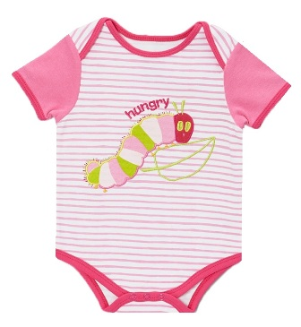 Eric Carle The Hungry Caterpillar Infant Stripe Bodysuit