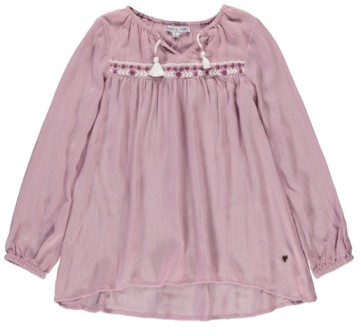 Souris Mini Designer Girls Boheme Tunic Top