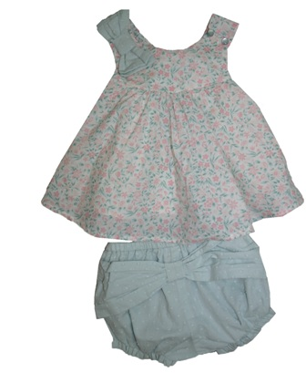 Dylan & Abby Designer Girls 2-pc Floral Set