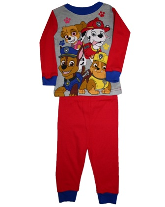 Paw Patrol Infant/Toddler  Fitted Pyjamas - Red/Blue
