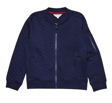 Outfit Kids UK for Dorothy Perkins Boys Quilted Bomber Jacket -  Navy