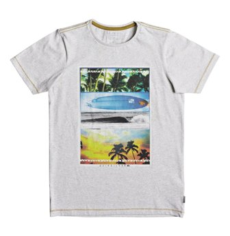 Quiksilver Youth Boys  Place To Be S/S Tee - Slate Grey