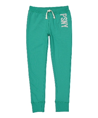 P.S. Aéropostale  Girls Premium Brand Girls French Knit Glitter Skinny Jogger -  Mint