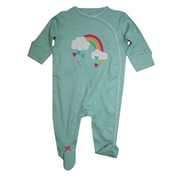 Scarlett Hormon for Atli UK Premium Cotton Rainbow Bodysuit