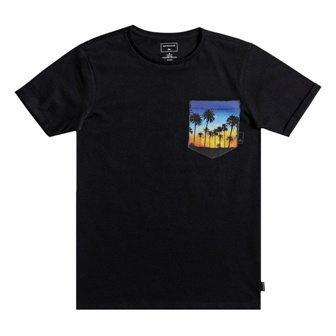 Quiksilver Youth Boys Sunset S/S Tee - Black