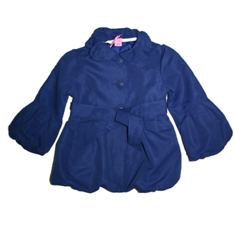 Adams UK Girls Jacket  - Navy