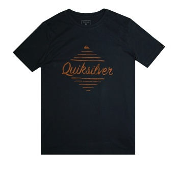 Quiksilver Youth Boys Free S/S Tee - Midnight Bue