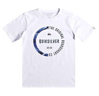 Quiksilver Youth Boys Classic Revenge Tee S/S Tee - White