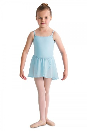 Bloch Ballet Barre Tutu Skirt - Light Blue