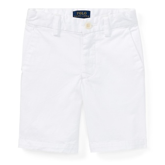 Polo Ralph Lauren Youth Boys Stretch Slim Chino - White