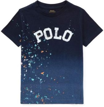 Polo Ralph Lauren Junior Boys Paint Splatter S/S - Navy