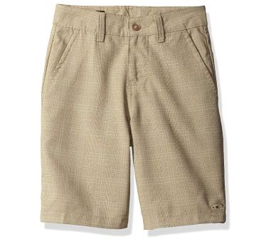 O'Neill Boys Delta Plaid Walk Short