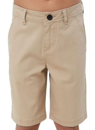 O'Neill Junior Boys Jay Walk Short - Light Beige