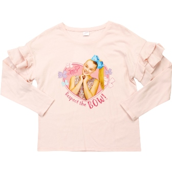 Nickelodeon Jo Jo Respect the Bow L/S