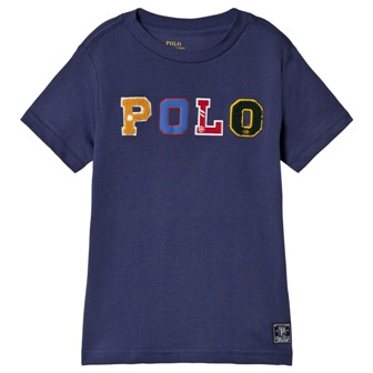 Polo Ralph Lauren Youth Boys POLO Appliqued S/S - French Navy