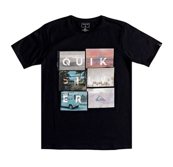 Quiksilver Youth Boys Local Motive S/S Tee - Black
