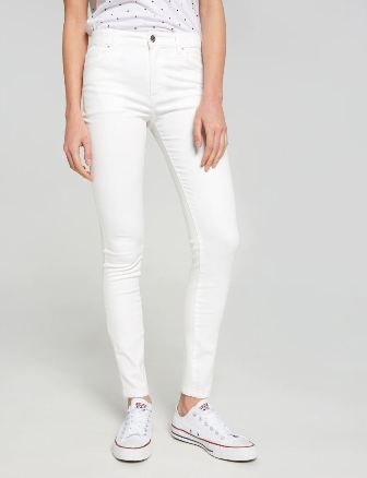 Riders by Lee Youth Girls Spray On Jeans - White