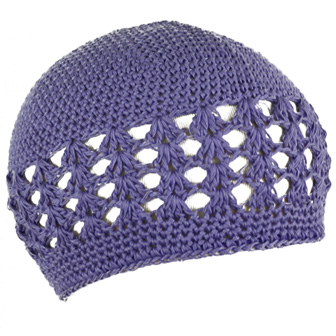 Feral Princess Infant Crochet Beanie - Mauve