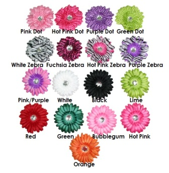 "Feral Princess 2 in One Crochet Headband/Hair Clip Daisy Flower ""Create Your Own Headband"""