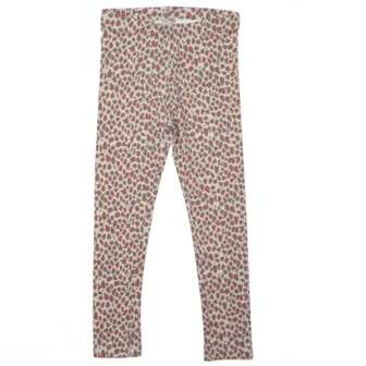NKY by Kiabi Girls Infant/Toddler Leopard Print Leggings - Creme