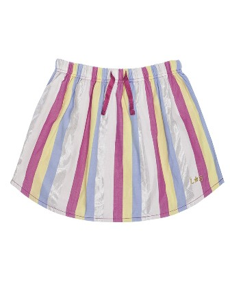 Lilly & Sid Designer Girls Dorothy Striped Fondant Skirt