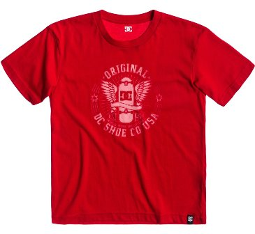 DC Youth Skate S/S Tee - Red
