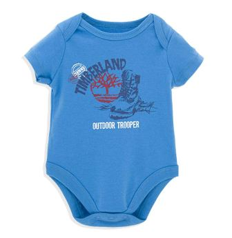 Timberland Infant Outdoor Trooper Onesie - Blue