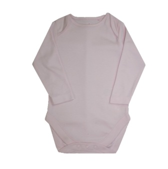 Girls Infant L/S Onesie - Pink