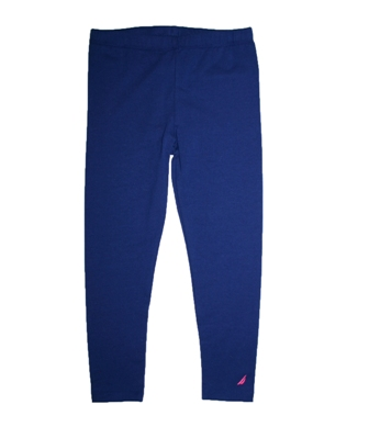 Nautica Infant/Junior Girls Leggings - Navy Blue
