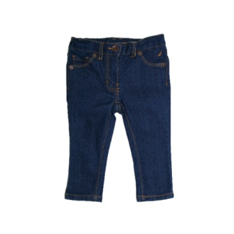 Nautica Infant/Junior Girls Stretch Skinny Denim Jeans