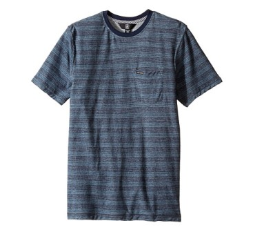 Volcom Junior Boys Alden Tee - Airforce Blue